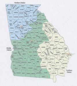 ga federal districts